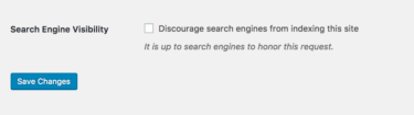 discourage-search-engines